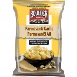 Boulder Canyon - Potato Chips - Parmesan & Garlic Kettle Cooked