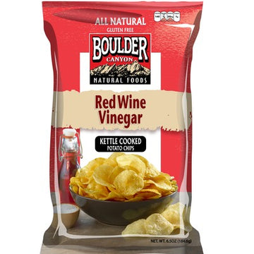 Boulder Canyon - Potato Chips - Red Wine Vinegar Kettle Cooked