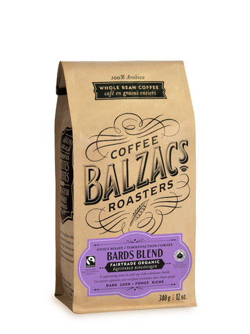 Balzac's Coffee Roasters - Bards Blend - Stout Roast