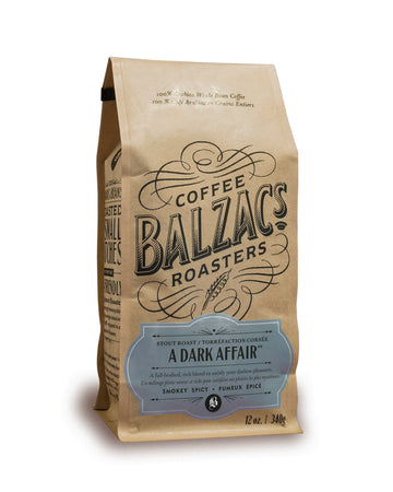 Balzac's Coffee Roasters - A Dark Affair - Stout Roast