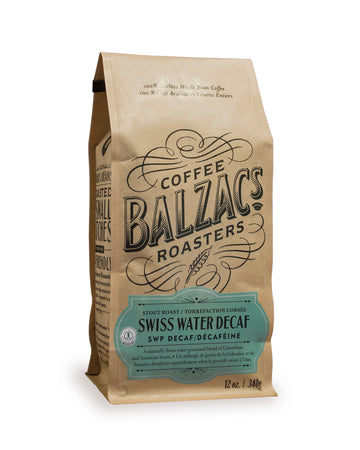 Balzac's Coffee Roasters - Swiss Water Decaf - Stout Roast