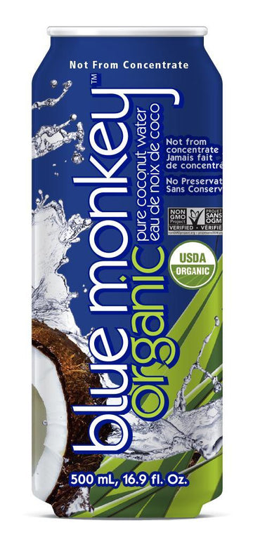 Blue Monkey - Coconut Water, Pure, Organic
