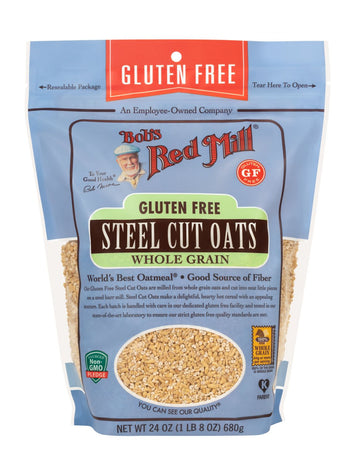 Bob's Red Mill - GF Oats, Steel Cut, Whole Grain