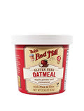 Bob's Red Mill - Single Serving Cup, Oatmeal w/Flax & Chia, Apple Cinnamon