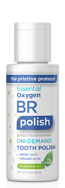 Essential Oxygen - Step 3 Organic Tooth Polish Peppermint
