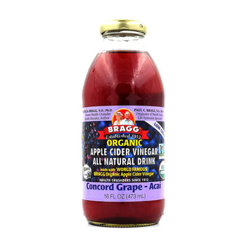 Bragg - Apple Cider Vinegar Drink, Concord Grape-Acai