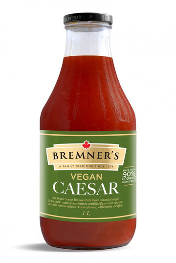 Bremner's - Caesar Mix, Vegan (made with 90% organic ingredients) (bottle)
