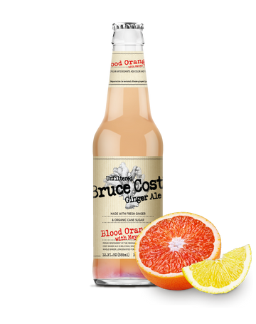 Bruce Cost - Ginger Ale, Unfiltered, Blood Orange w/Meyer Lemon