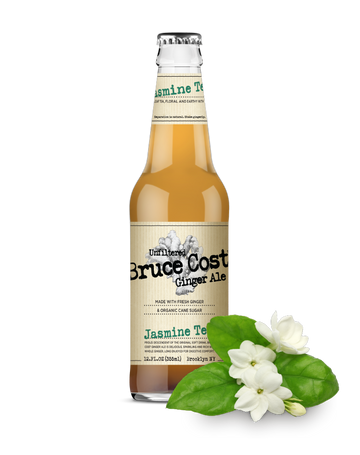 Bruce Cost - Ginger Ale, Unfiltered, Jasmine Tea