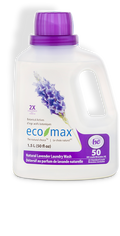 Eco-Max - Laundry Wash, 2X Concentrated, Natural Lavender, HE