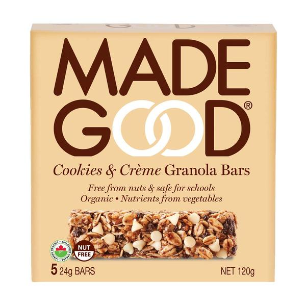 Made Good - Granola Bars, 5-Packs, Cookies & Creme