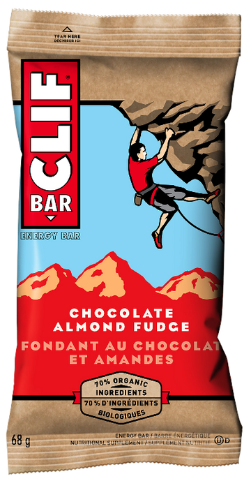 Clif - Bar - Chocolate Almond Fudge, 70% Organic