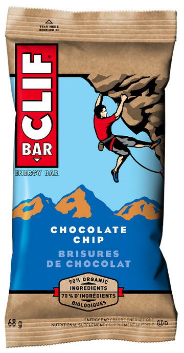Clif - Bar - Chocolate Chip, 70% Organic