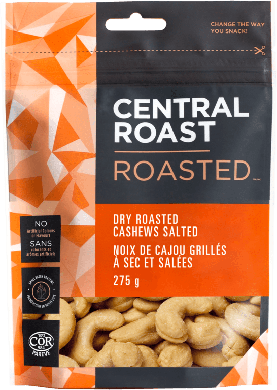 Central Roast - Cashews, Dry Roasted, Salted
