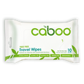 Caboo - Travel Wipes, Organic Bamboo w/Aloe Vera