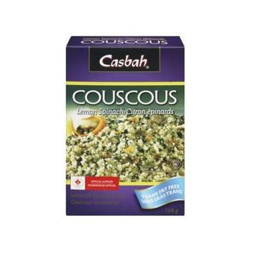Casbah - Couscous, Lemon Spinach