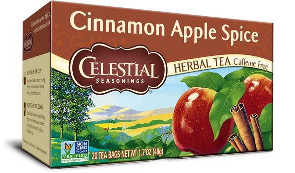 Celestial Seasonings - Herbal Tea, Cinnamon Apple Spice