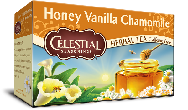 Celestial Seasonings - Herbal Tea, Honey Vanilla Chamomile