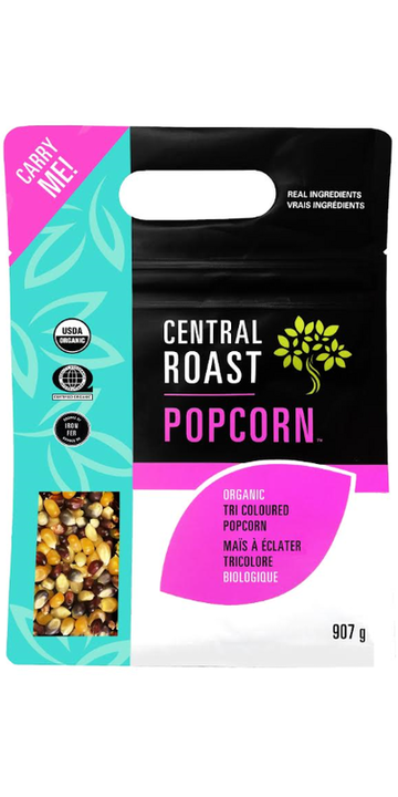 Central Roast - Popping Corn, Tri-coloured