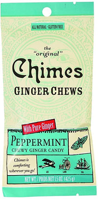 Chimes - Ginger Chews, Peppermint, Small