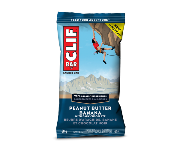 Clif - Peanut Butter Banana w/Dark Chocolate, 70% Organic