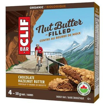 Clif - 4-Pack, Nut Butter Filled, Chocolate Hazelnut Butter, Organic