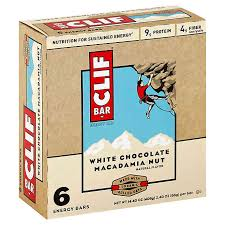 Clif - 6-Pack, White Chocolate Macadamia, 70% Organic