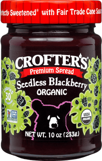 Crofter's - Premium, Blackberry, Fair Trade Sugar Sweetened