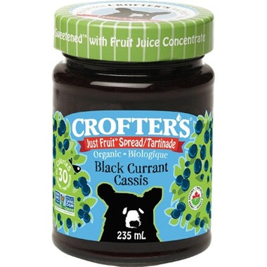 Crofter's - Black Currant Spread, Fruit Juice Sweetened