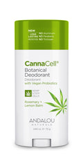 Andalou Naturals - CannaCell Deodorant Rosemary Lemon