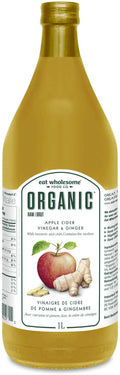 Eat Wholesome - Apple Cider Vinegar & Ginger, Raw, Organic