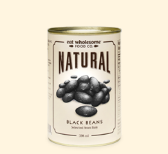 Eat Wholesome - Black Beans, Organic