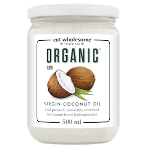 Eat Wholesome - Coconut Oil, Virgin, Organic