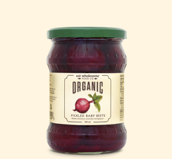Eat Wholesome - Pickled Beets, Baby, Whole, Organic
