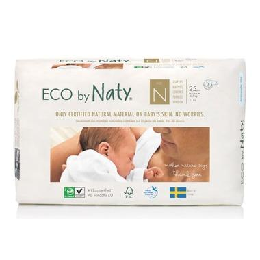 Eco By Naty - Disposable Eco Diapers, N