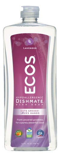 Ecos Earth Friendly - Dishmate Dish Liquid, Lavender