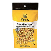 Eden Foods - Pumpkin Seeds, Dry Roasted, Salted, Organic