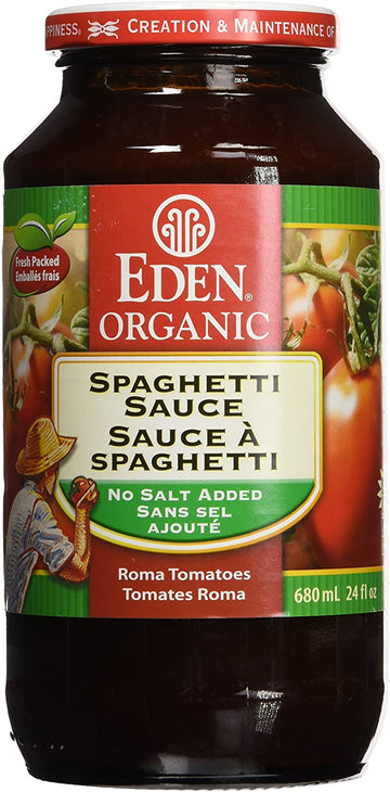 Eden Foods - Spaghetti Sauce, No Salt Added, Organic