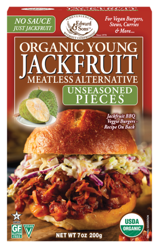 Edward & Sons - Jackfruit, Young, Unseasoned Pieces, Organic