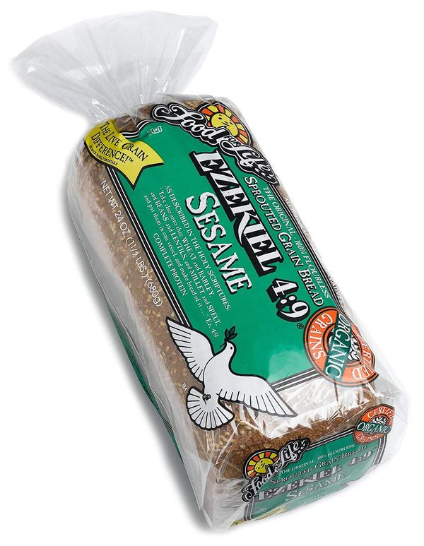 Food For Life - Bread, Sprouted Grain, Ezekiel, Sesame