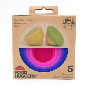 Food Huggers  - Set of 5 - Bright Berry