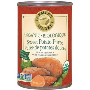 Farmer's Market - Sweet Potato Puree, Organic