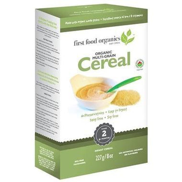 First Food Organics - Infant Cereal, Multigrain, Organic (6+ months)