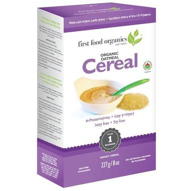 First Food Organics - Infant Cereal, Oatmeal, Organic (6+ months)