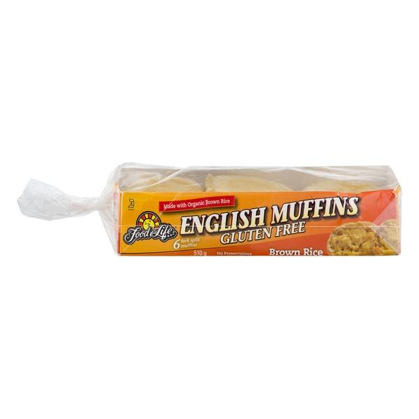 Food For Life - English Muffins, Brown Rice