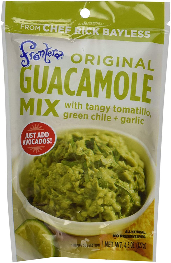 Frontera Foods - Seasoning Mix, Guacamole, Original w/Tomatillo, Green Chili & Garlic