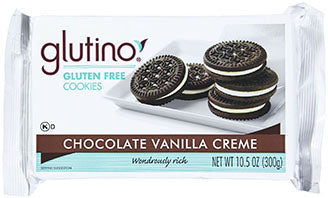 Glutino - Chocolate Creme Cookies