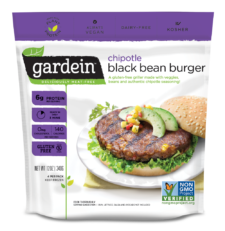 Gardein - Black Bean Burger, Chipotle