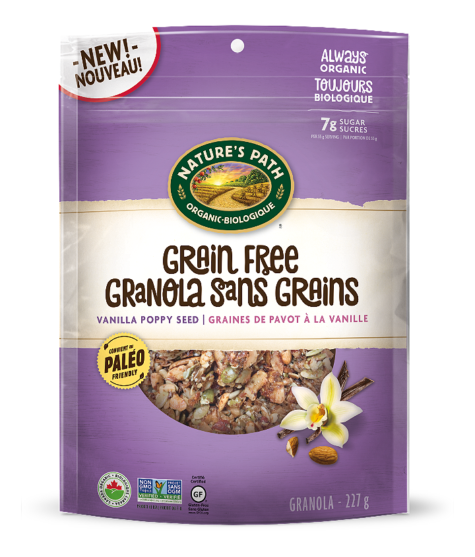 Nature's Path - Grain Free Granola - Vanilla Poppy Seed