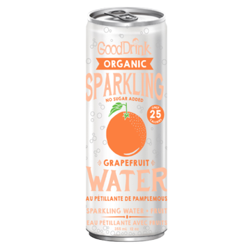 GoodDrink - Sparkling Water, Grapefruit, Organic